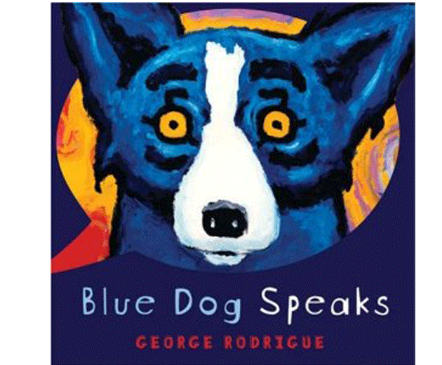 why is blue dog blue