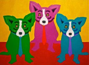 The Dukes of Dixieland, 2013 acrylic on canvas