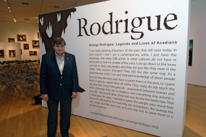 George Rodrigue, The Acadiana Center for the Arts, 2009