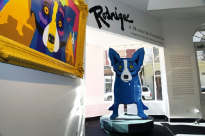 Blue Dog paintings, George Rodrique