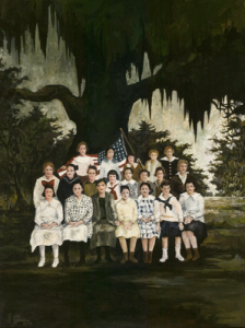 The Class of Marie Courrege, 1974, George Rodrigue