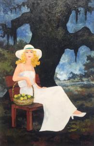 Jolie-Blonde-1984_33x23_oil-RODRIGUE
