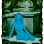 Sitting-Blue