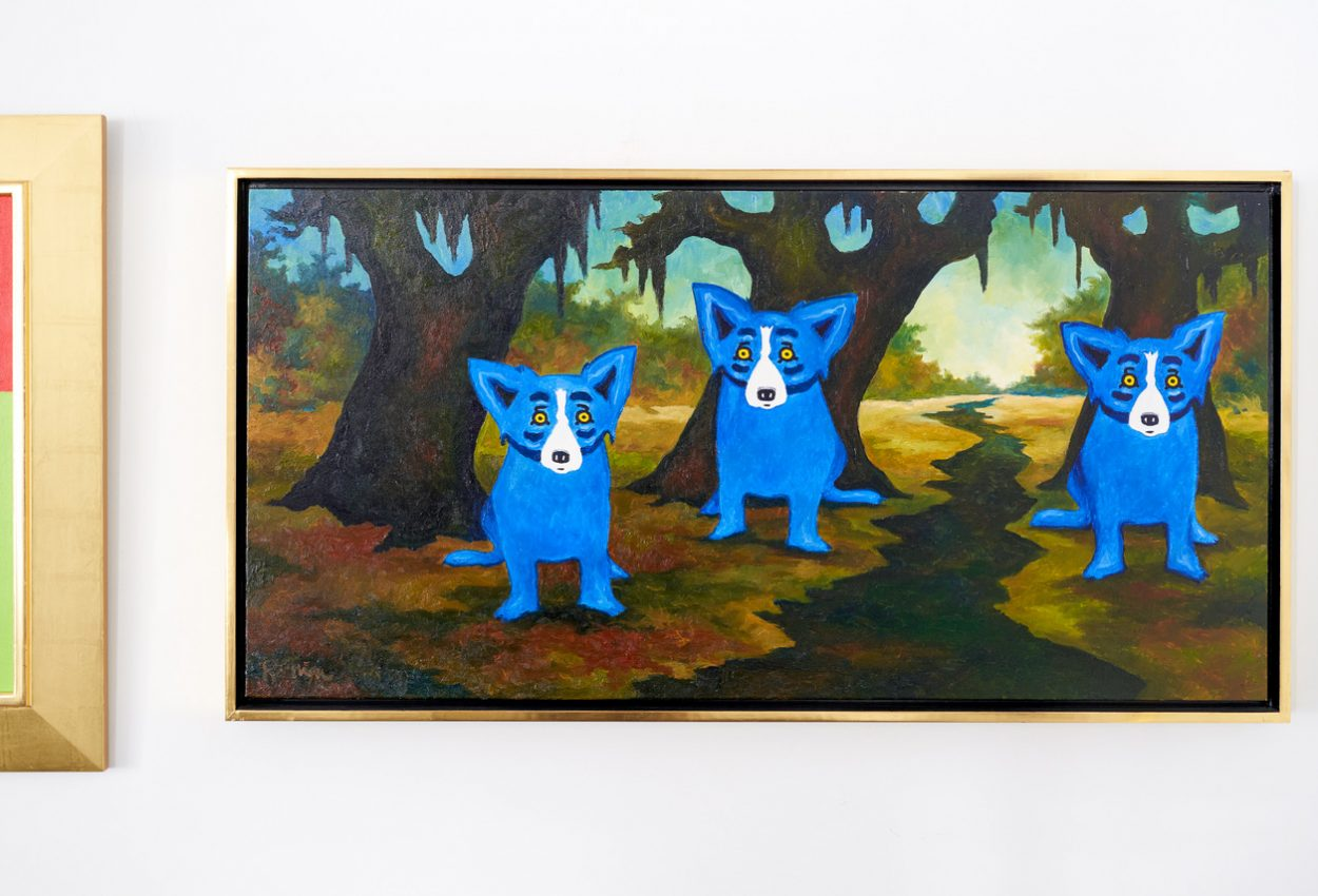 George Rodrigue Studios Artwork Blue Dogs Online Shop