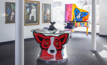 George Rodrigue Today
